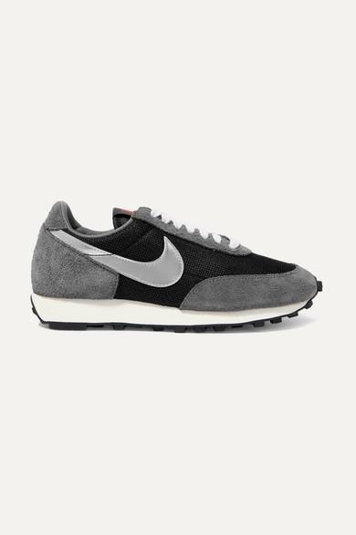 Sneakers Daybreak aus Mesh und Veloursleder