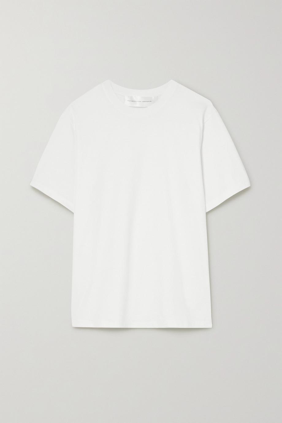 Victoria, Victoria Beckham Victoria cotton-jersey T-shirt