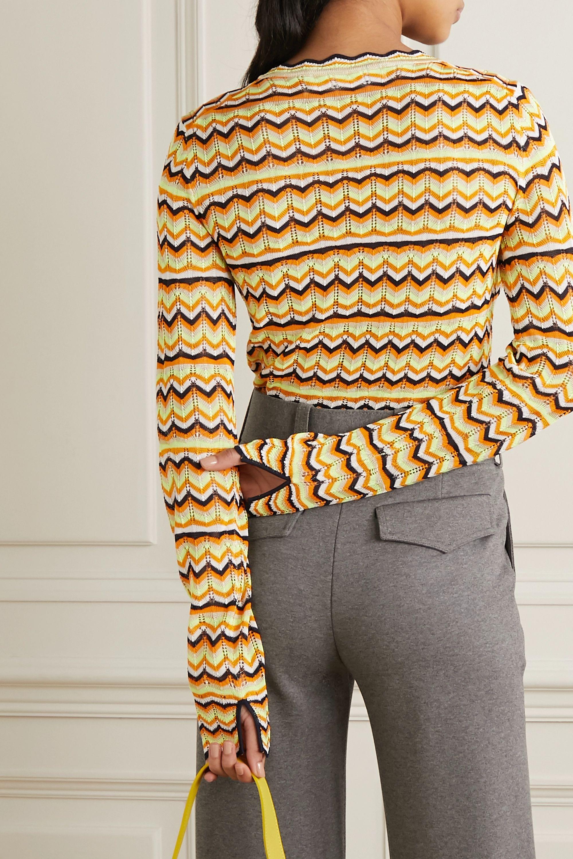 Victoria, Victoria Beckham Open-knit sweater
