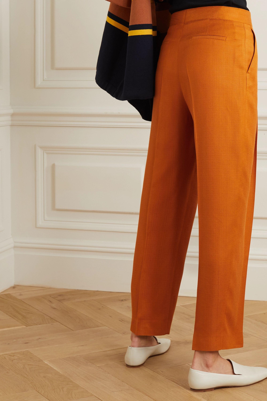 Victoria, Victoria Beckham Grain de poudre tapered pants