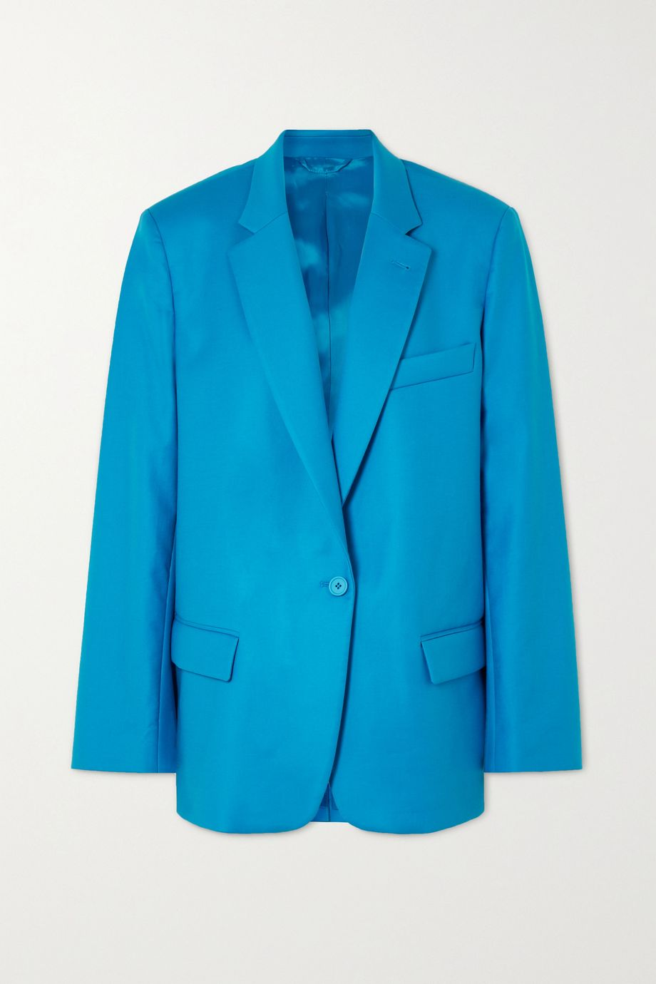 The Attico Oversized cotton-blend gabardine blazer
