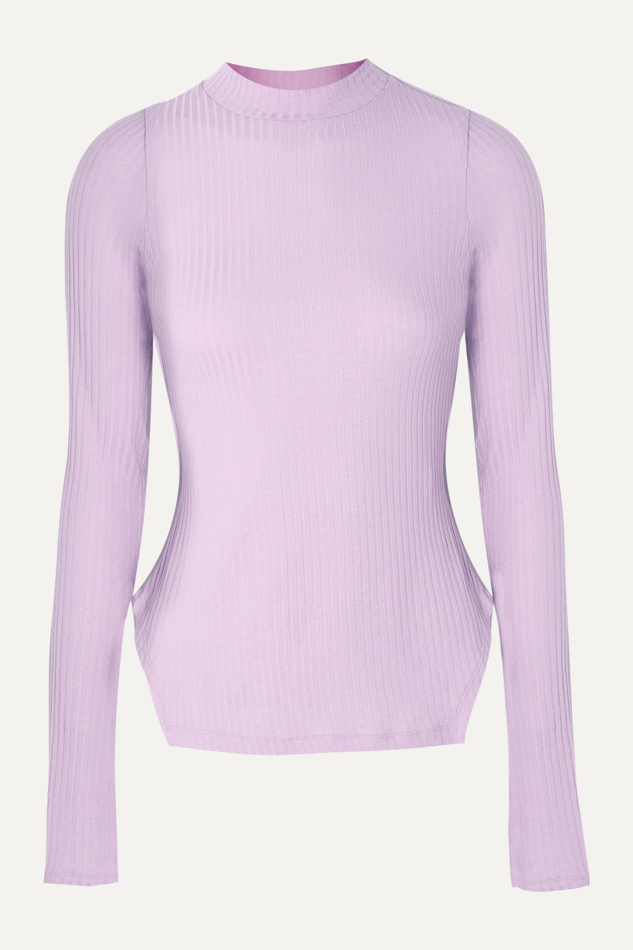 REJINA PYO + NET SUSTAIN Candice ribbed Tencel-blend jersey top