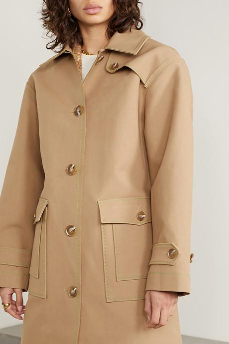 Joanna cotton-gabardine trench coat