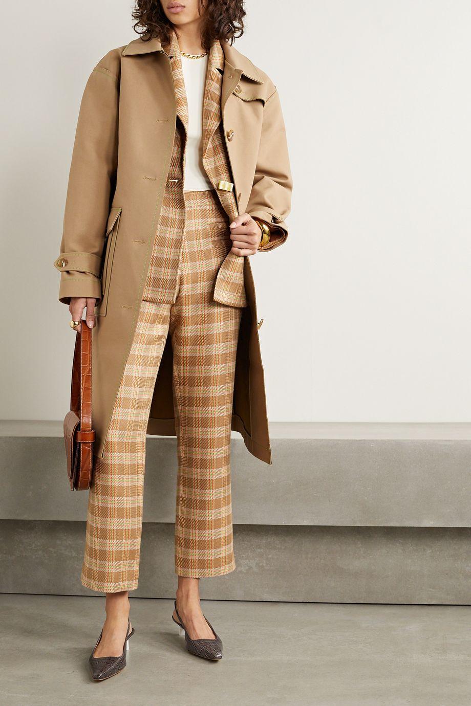 REJINA PYO Joanna cotton-gabardine trench coat