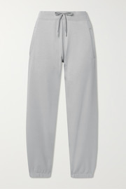 Stretch-Pima cotton track pants