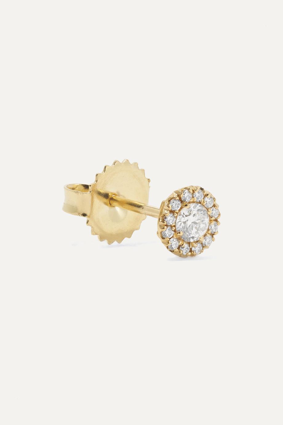 Suzanne Kalan Boucles d'oreilles en or 18carats et diamants