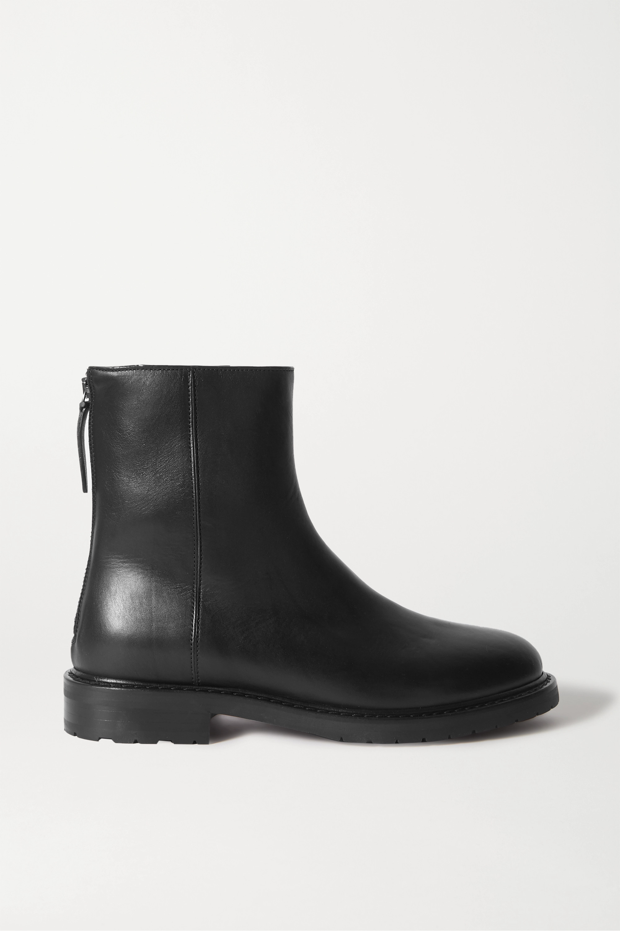 Leather Chelsea Boots by Tamaris   Look