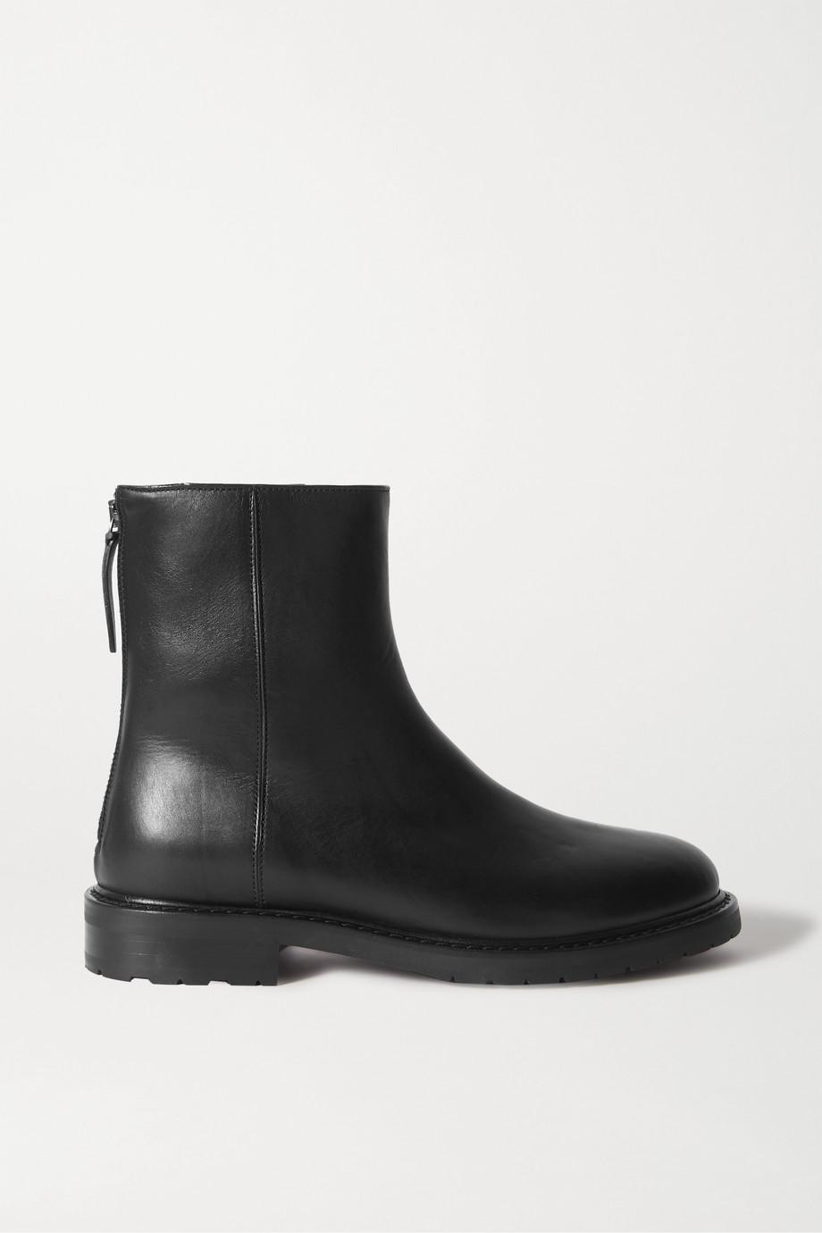 LEGRES 皮革踝靴