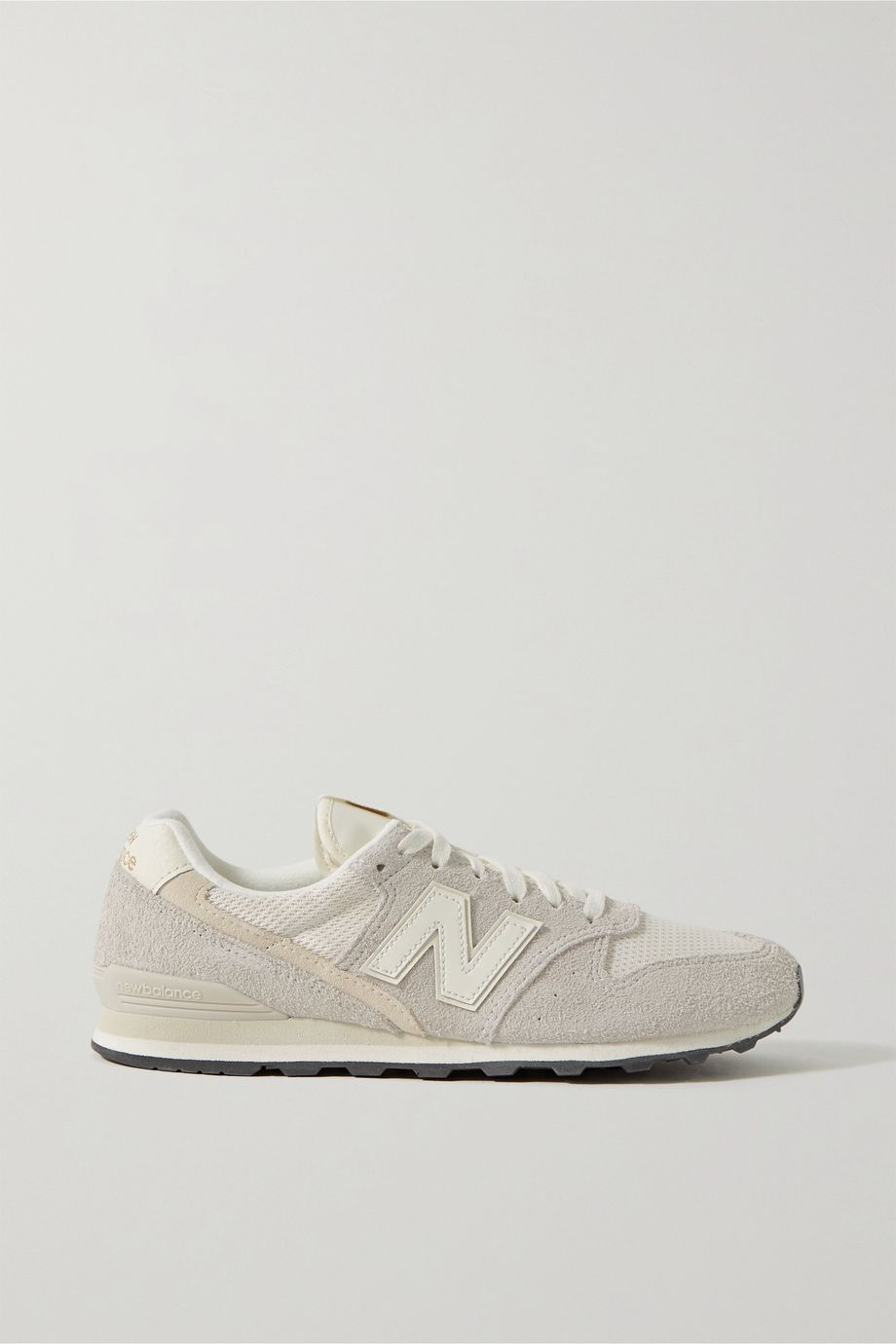 New Balance 996 suede, mesh and leather sneakers