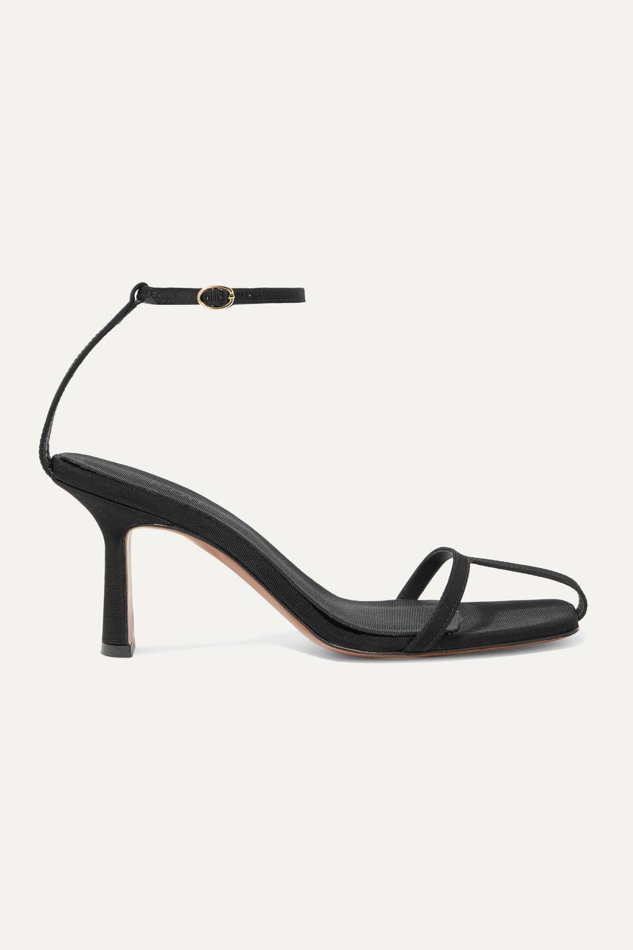 Neous Kia grosgrain sandals