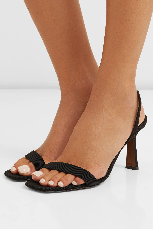 Neous Tulip grosgrain slingback sandals