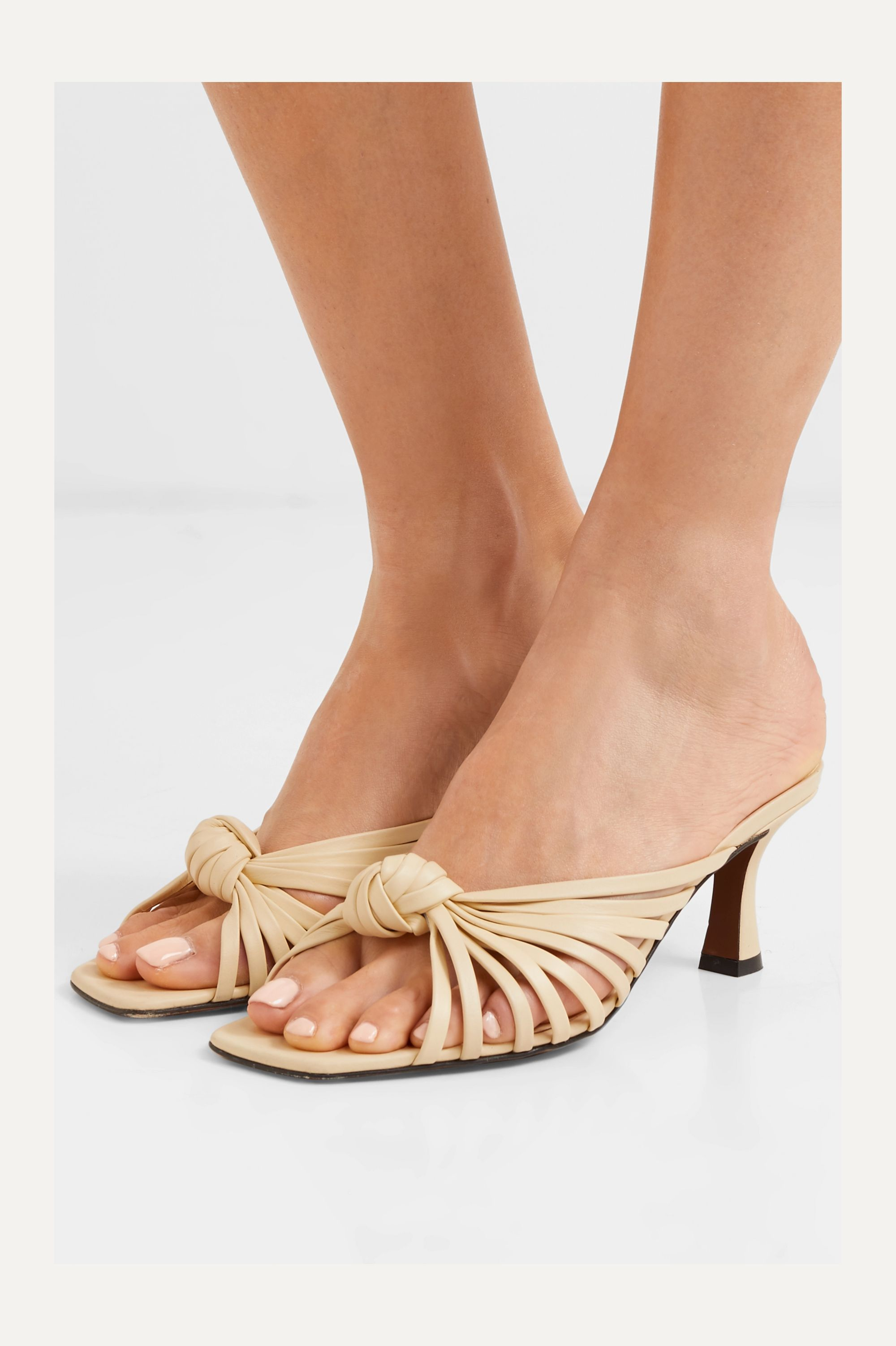 Neous Lottis knotted leather sandals