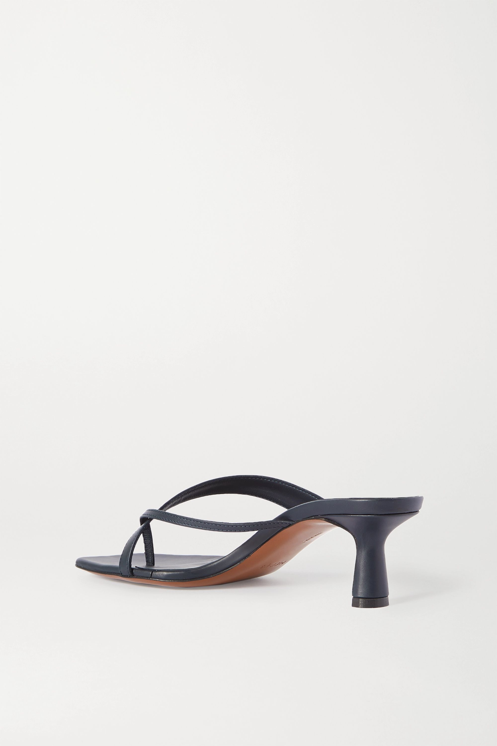 Neous Florae leather sandals