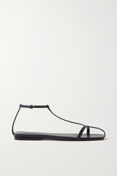 Neous Jacqui Leather Sandals In Navy