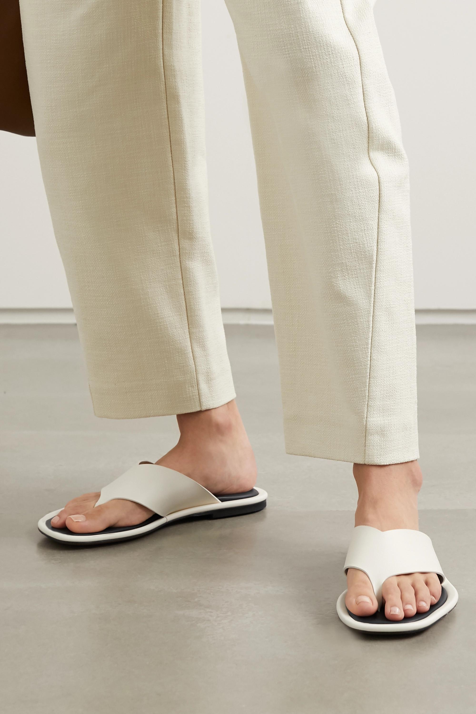 Neous Lanke leather flip flops