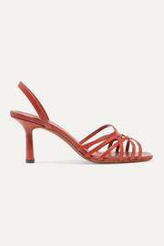 Neous Scuticaria leather slingback sandals