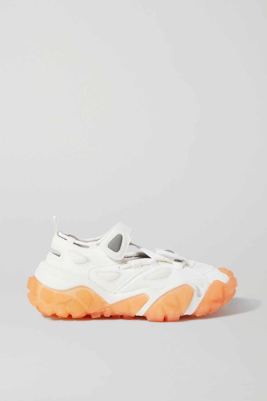 Acne Studios Faux suede and mesh sneakers