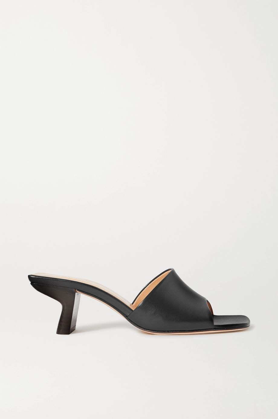 BY FAR Lily leather mules