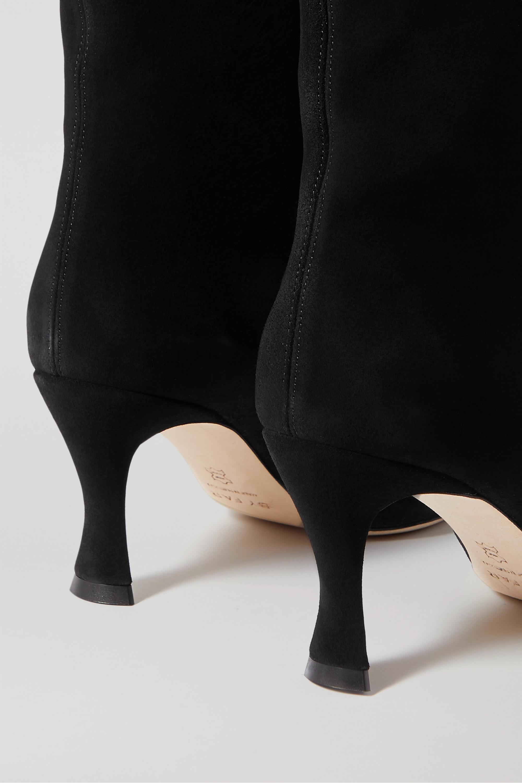 BY FAR Stevie 绒面革及膝长靴