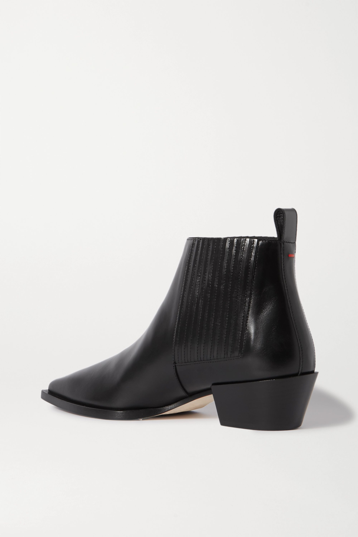aeyde Bea 皮革踝靴