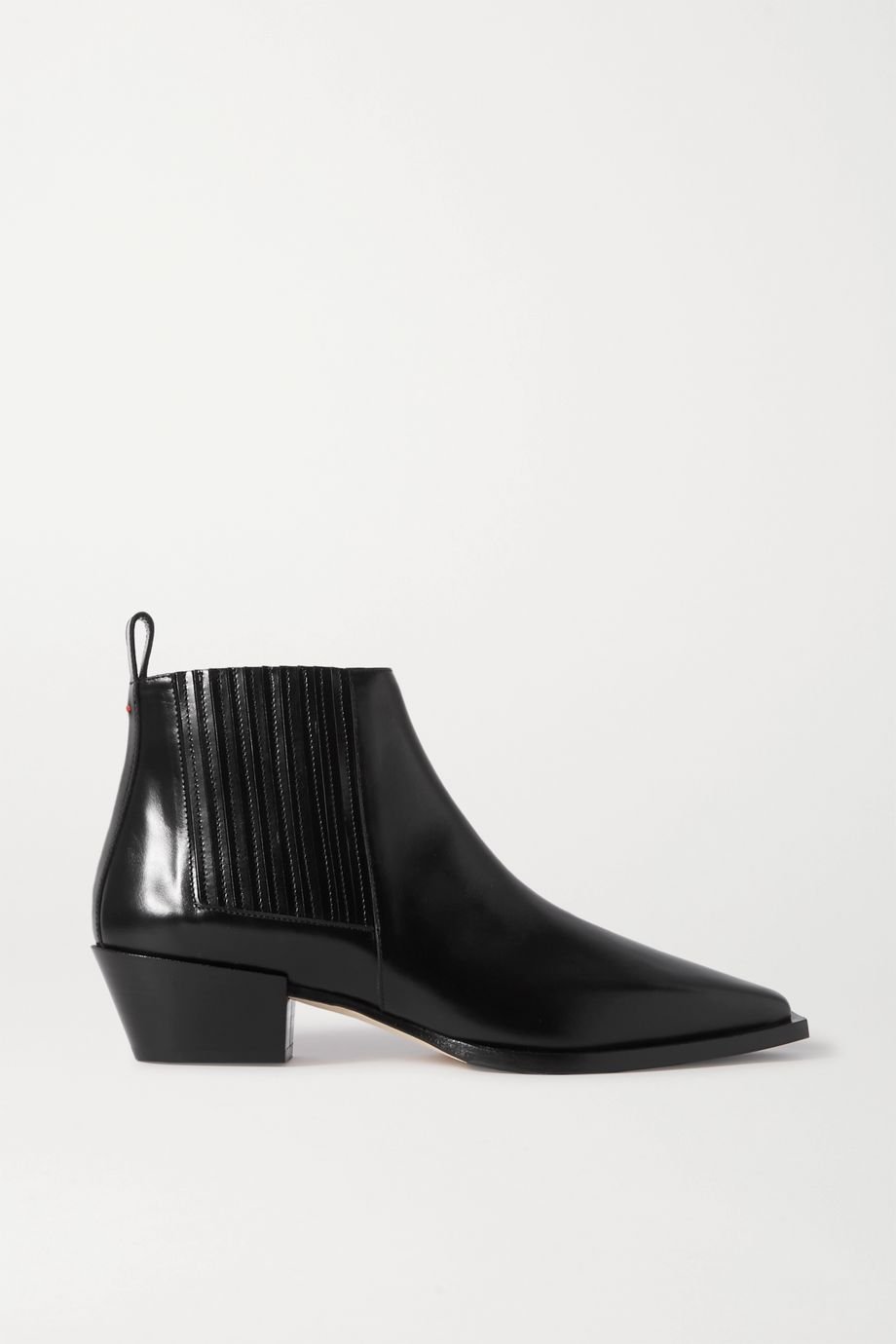 aeydē Bea leather ankle boots