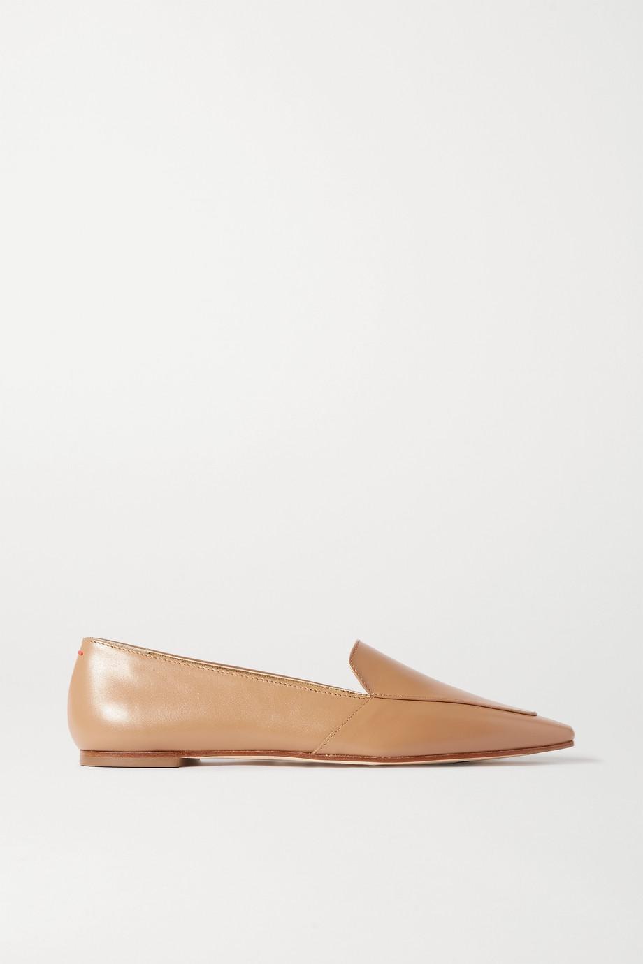 aeydē Aurora 皮革乐福鞋