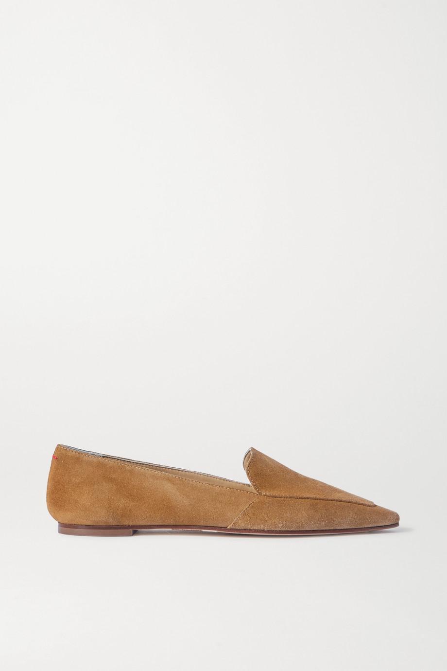 aeyde Aurora suede loafers