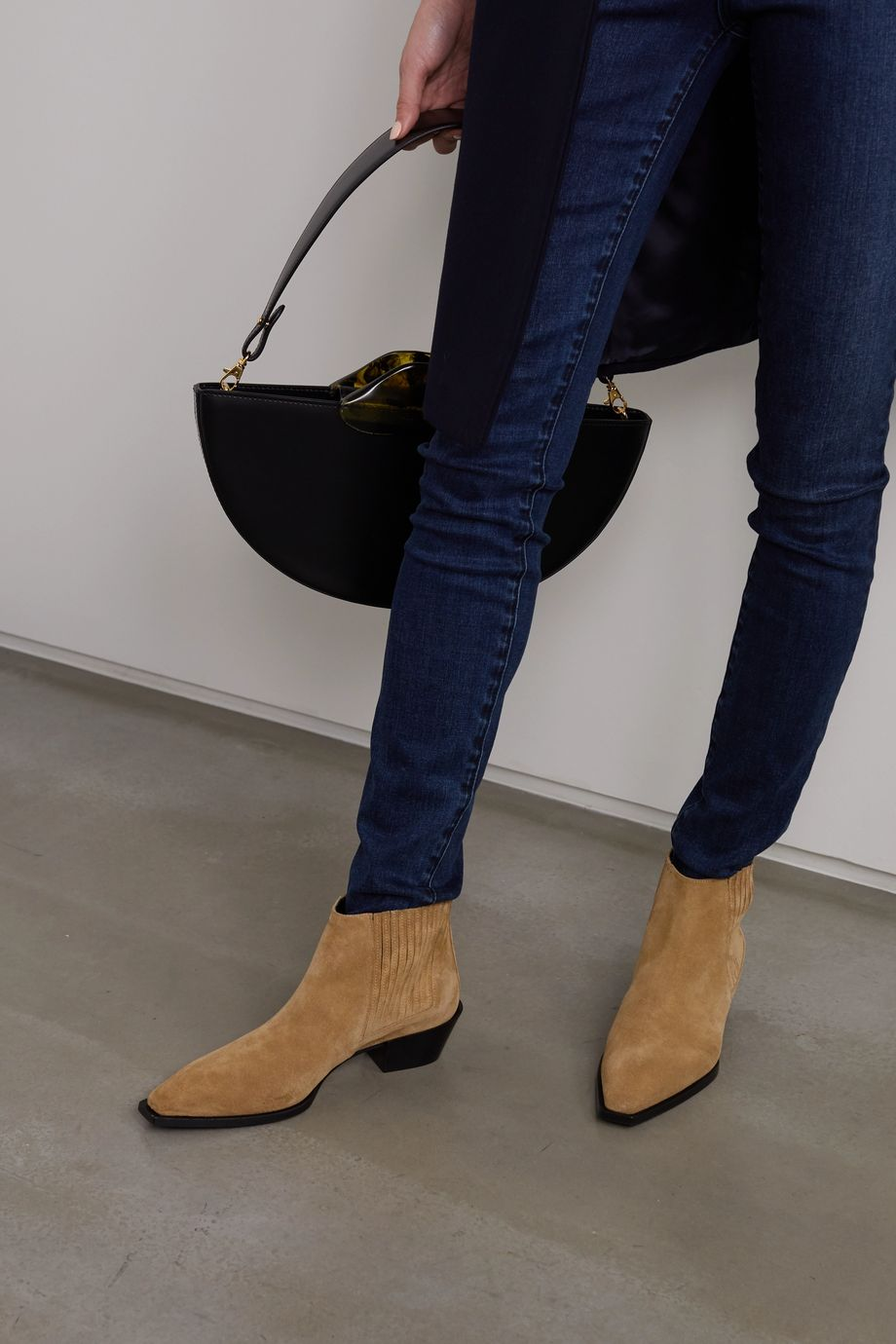 aeydē Bea suede ankle boots