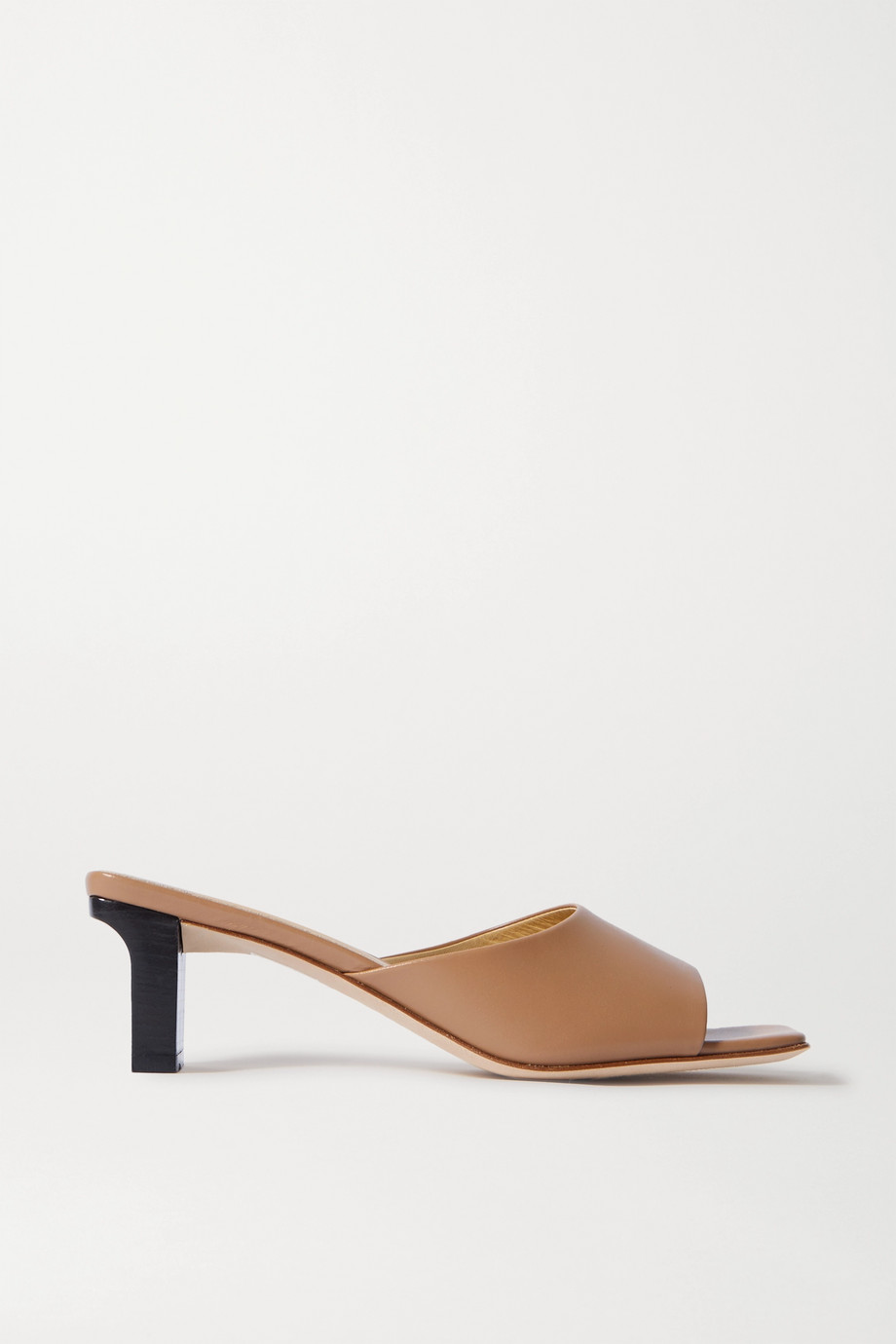 aeyde Katti leather mules