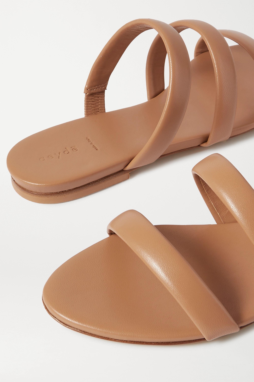 aeyde Chrissy leather slides