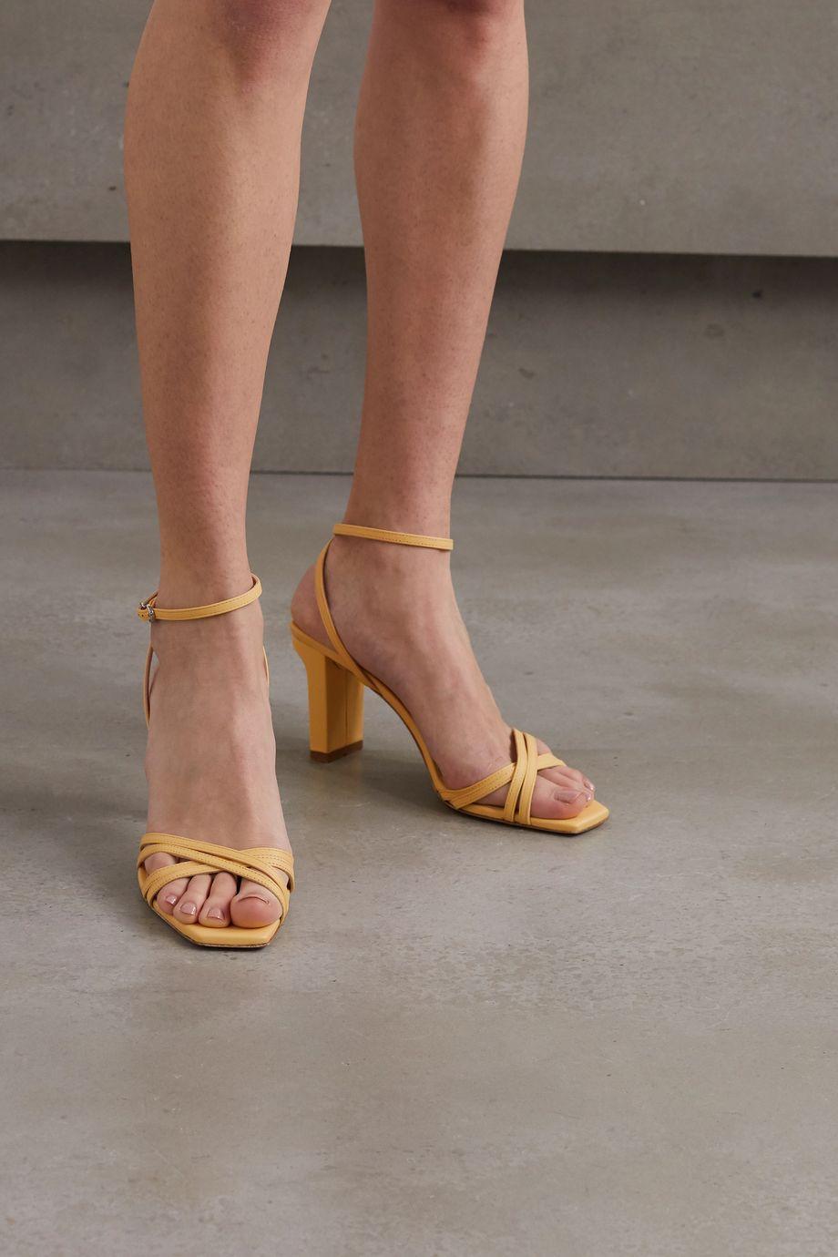 aeydē Annabella leather sandals