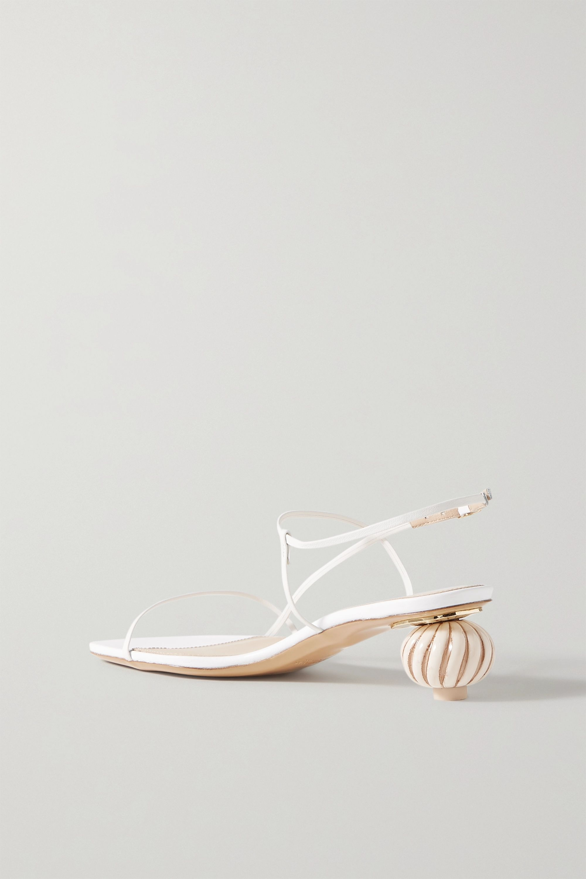 Jacquemus Manosque leather sandals