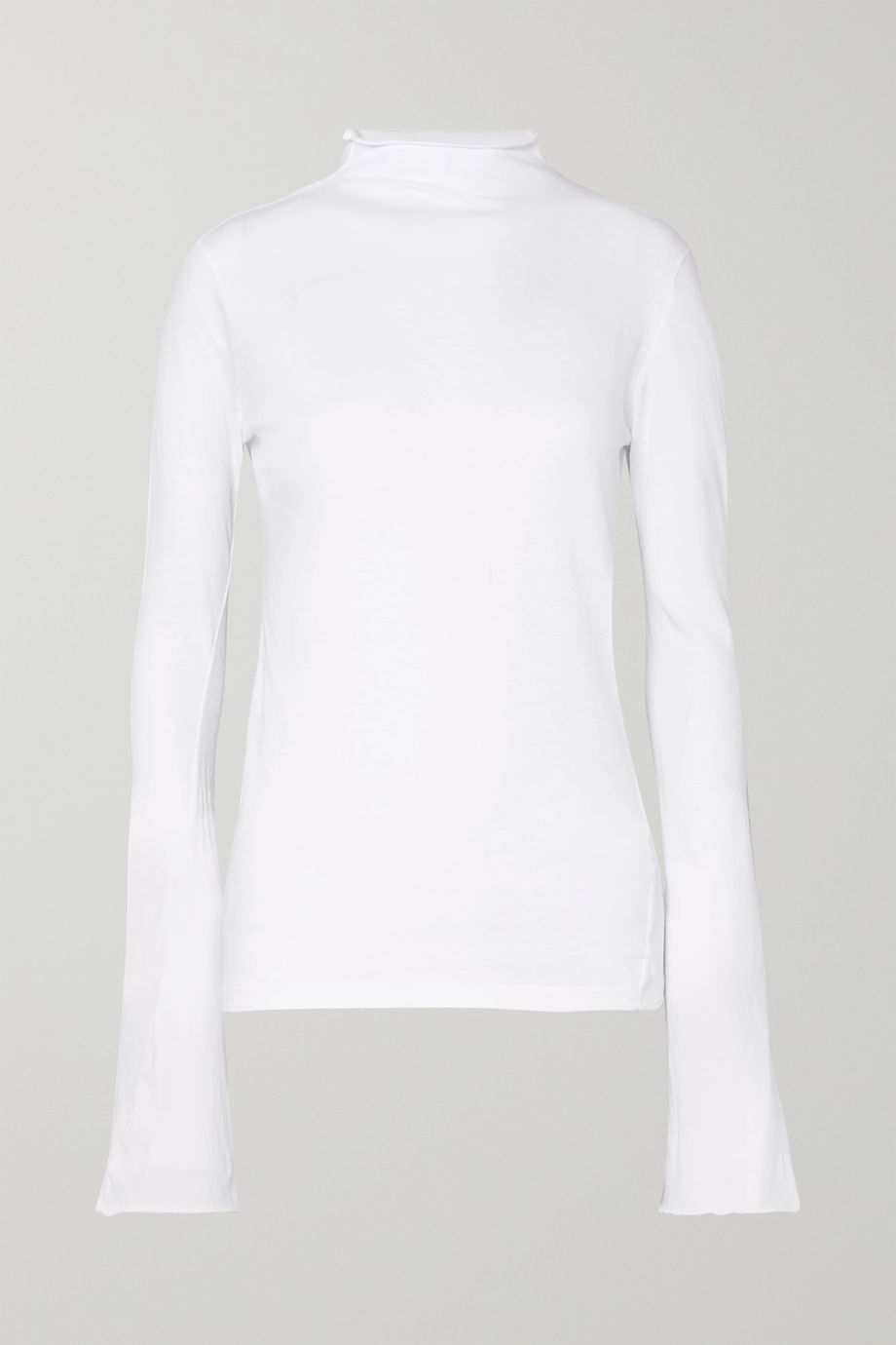 Bassike Organic cotton-jersey top