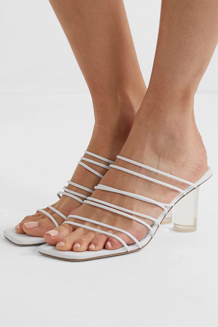 REJINA PYO Zoe leather sandals