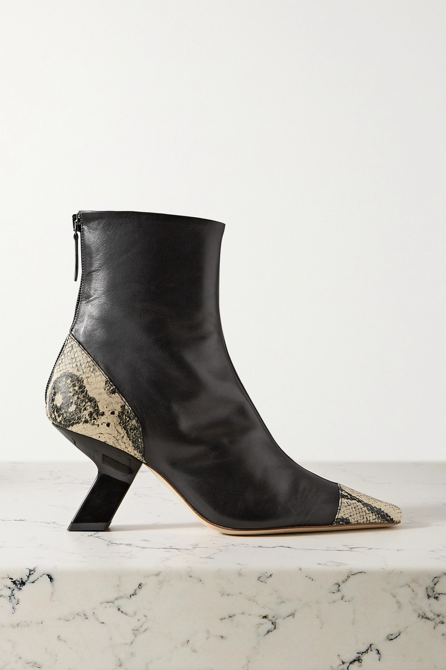 REJINA PYO Marley leather ankle boots