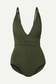 Panarea ruched swimsuit
