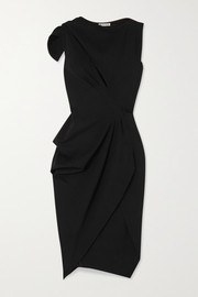 Maticevski Connector cutout draped cady dress
