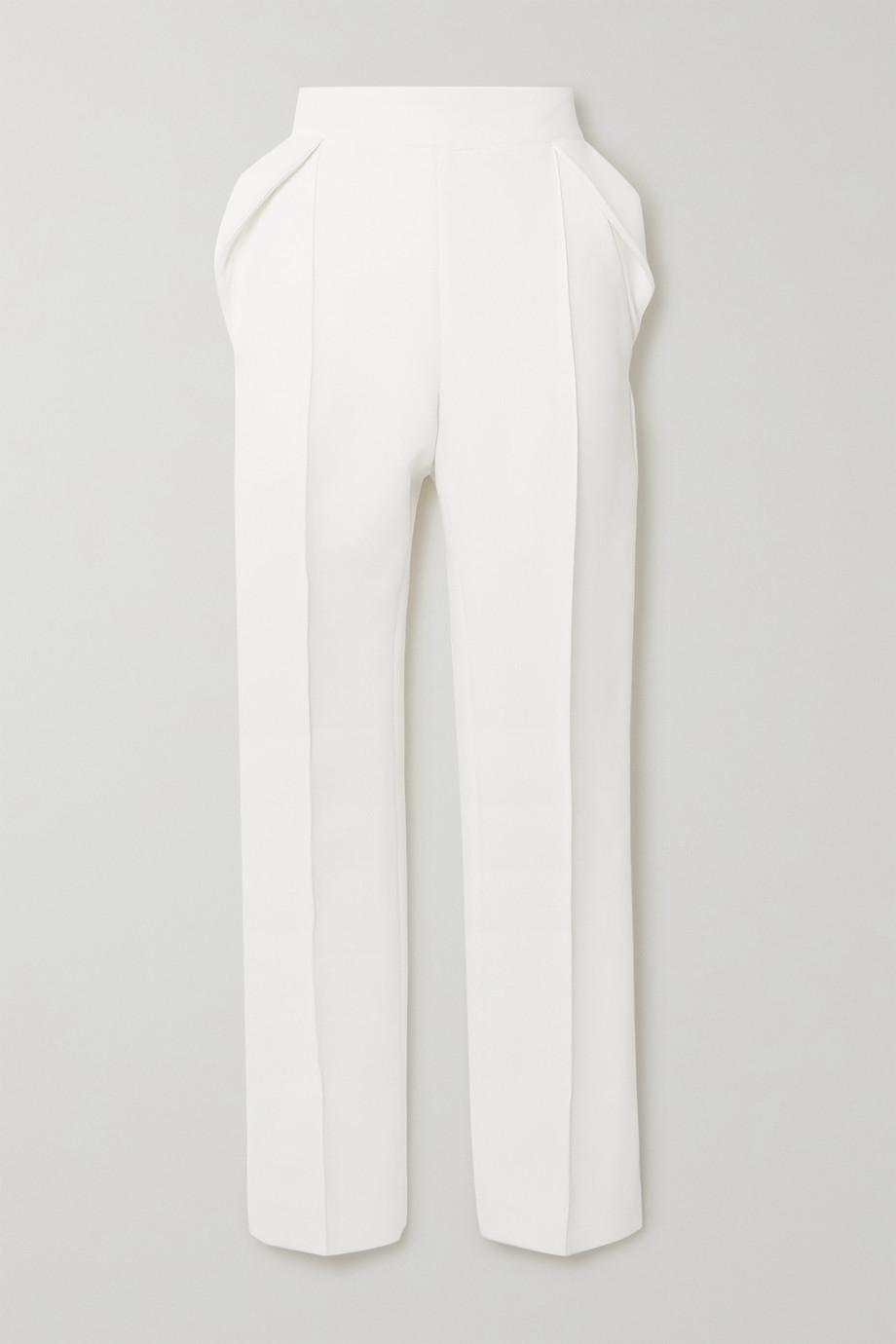 Maticevski Prolific pleated cady straight-leg pants