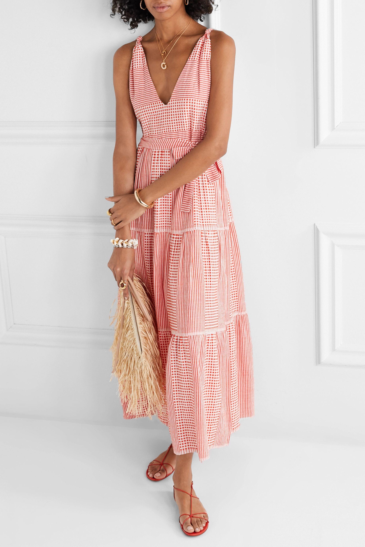 LemLem Semira cotton-gauze maxi dress