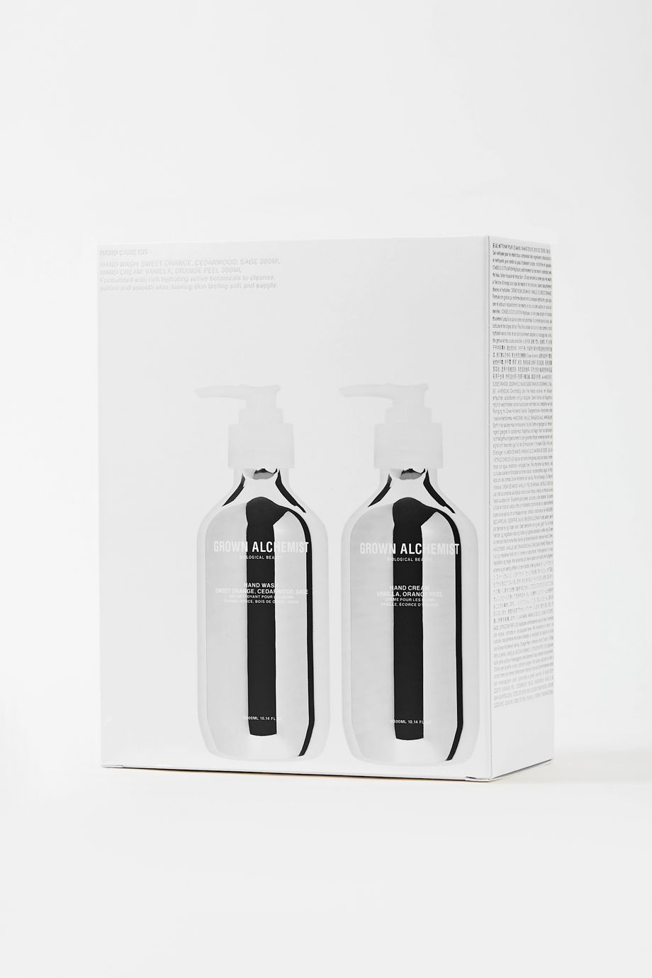 Grown Alchemist Hand Wash & Hand Cream Twin Set, 2 x 300ml