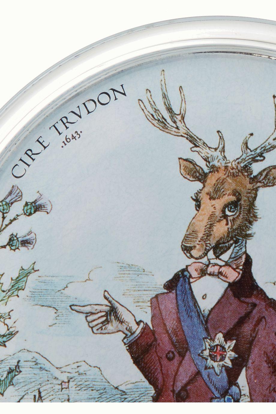 Cire Trudon Balmoral Kerzenuntersetzer aus Glas