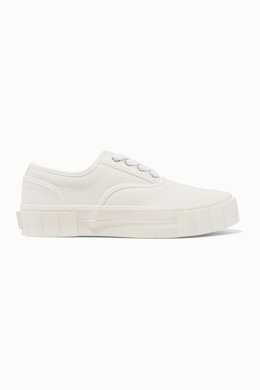 GOOD NEWS + NET SUSTAIN organic cotton-canvas sneakers