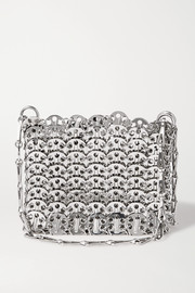 Paco Rabanne Nano 1969 paillette-embellished chainmail shoulder bag