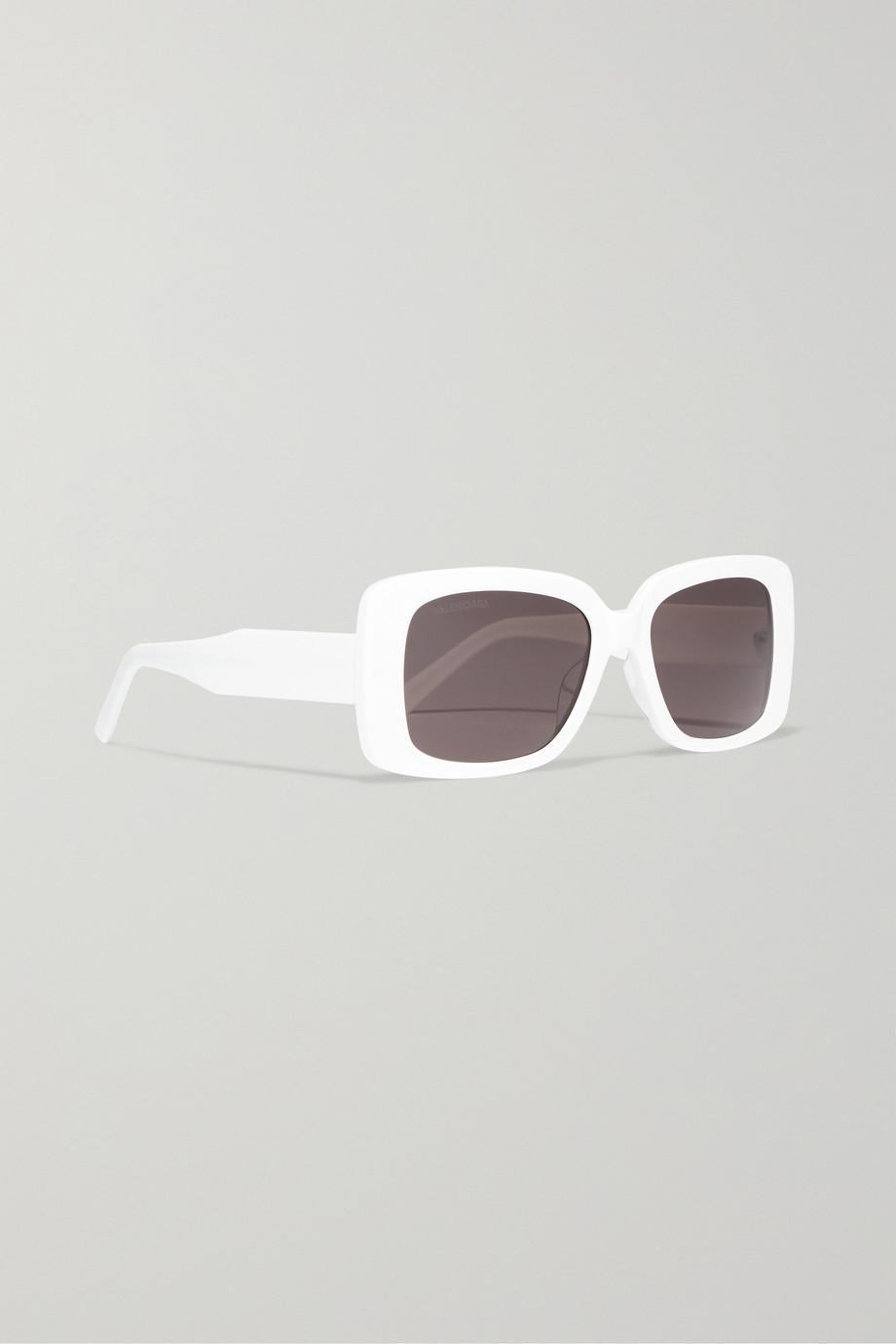Balenciaga Oversized square-frame acetate sunglasses