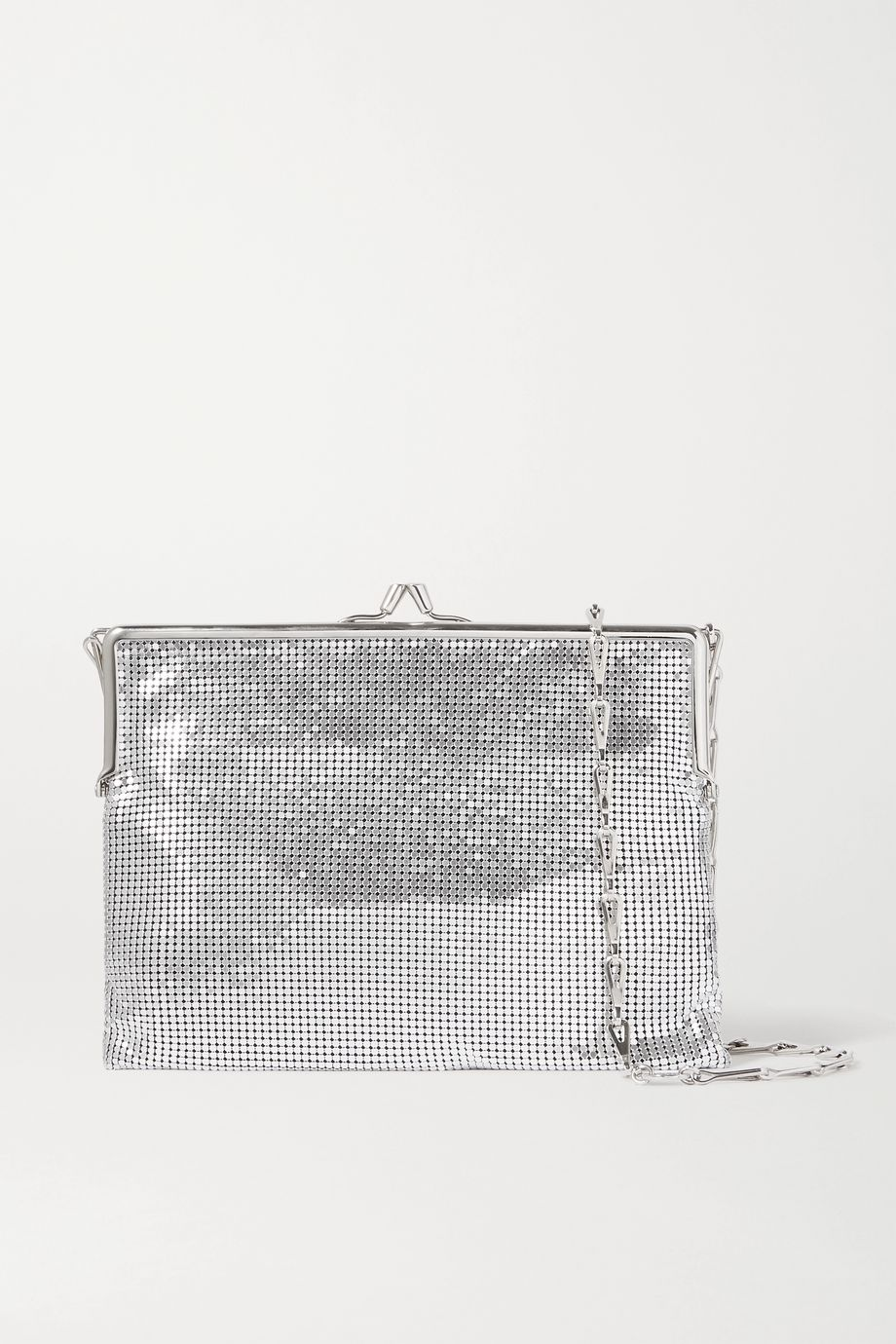 Paco Rabanne Pixel Frame 1969 chainmail shoulder bag