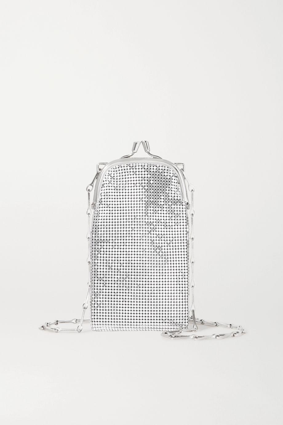 Paco Rabanne Pixel 1969 锁子甲迷你单肩包