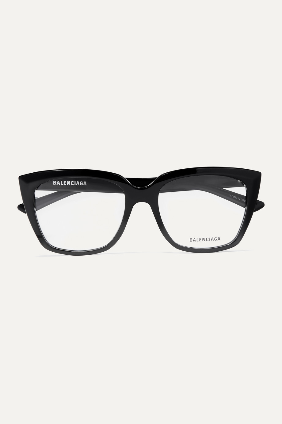 Balenciaga Tip oversized cat-eye acetate optical glasses