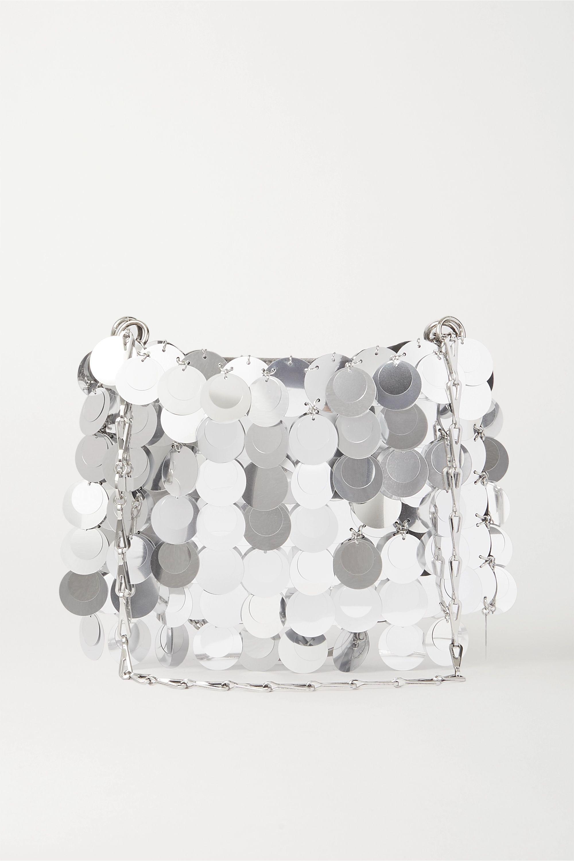 Paco Rabanne Sparkle paillette-embellished satin shoulder bag