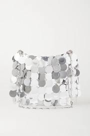 Paco Rabanne Sparkle paillette-embellished satin shoulder bag