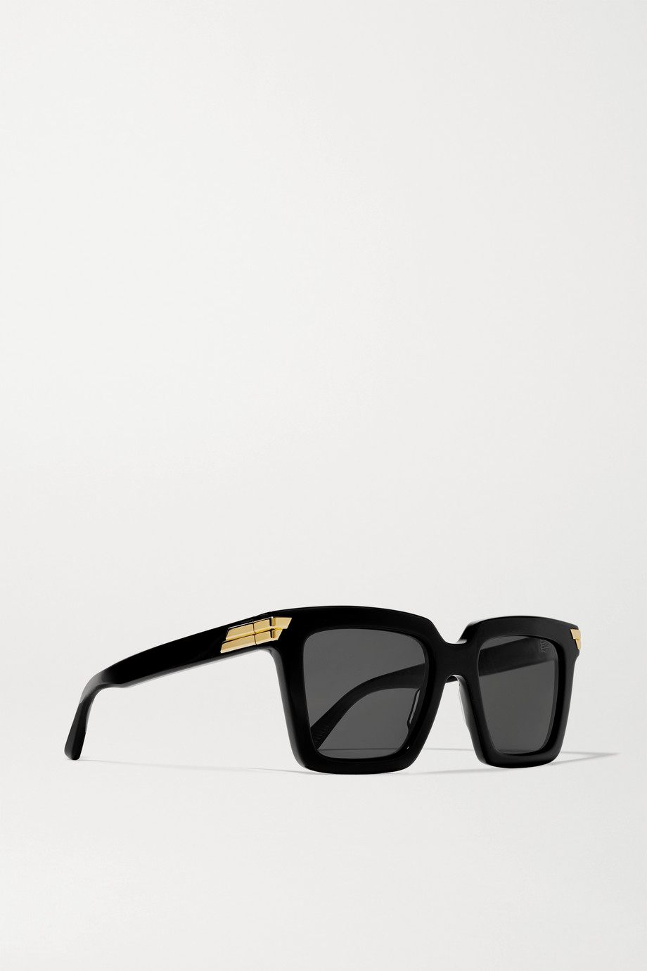 Bottega Veneta Oversized square-frame acetate sunglasses